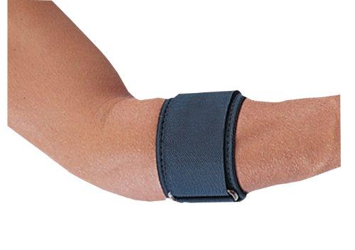 Bilt-Rite Mastex Health Neoprene Tennis Elbow Support, Black - Universal Tennis Elbow Neoprene Strap