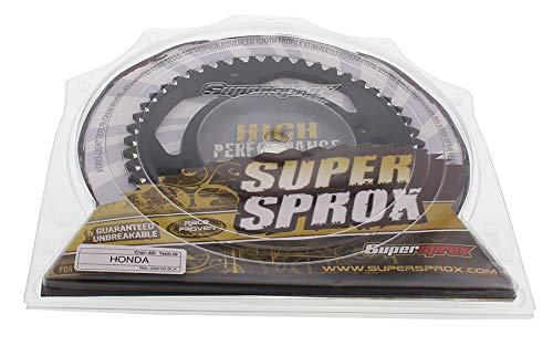 SuperSprox RAL-209-50-BLK Black Aluminum Sprocket