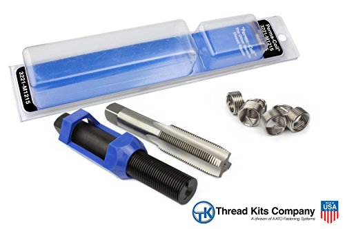 (Perma-Coil 3221-M1215 Metric Thread Repair Kit M12X1.5 6PC Helicoil 5406-12)