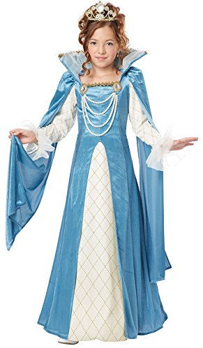 California Costumes Renaissance Queen Child Costume, Medium -