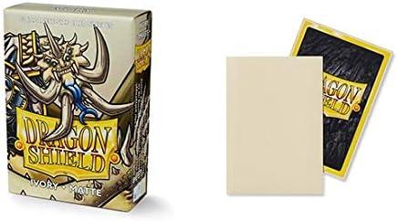Dragon Shield Matte Mini Japanese Ivory 60 ct Card Sleeves Individual Pack