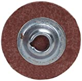 Norton Speed-Lok Cloth Abrasive Disc, Polyester Backing, TS (Type II), Aluminum Oxide, 2'' Diameter, 60 Grit (Pack of 10)