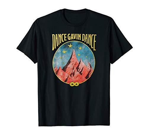 Dance Gavin Dance Mountain Stars T-Shirt