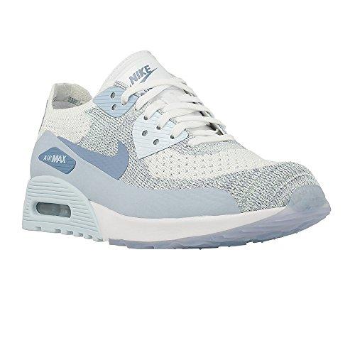 Nike - Cerrado Mujer Blanco-Celeste