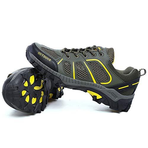 Zapatillas Transpirable Adultos Ejército Primavera Del Verde para Unisex Casuales Zapatos Malla Verano Parejas nwIE0Eazq7