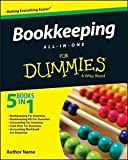 img - for Bookkeeping All-In-One for Dummies (Paperback)--by Lita Epstein [2015 Edition] book / textbook / text book