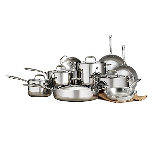 Member's Mark Tri-Ply Clad 14-Pc. Cookware Set (14-Piece) (Tri Ply Clad)