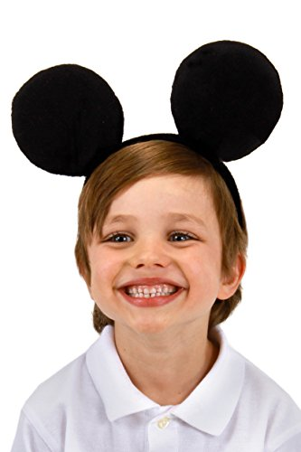 Disney Mickey Mouse Costume Ears Headband for Women elope (Icon Ears Mickey)