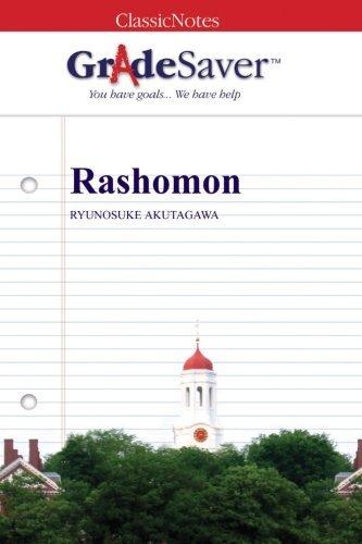 "Rashomon ""Rashōmon"" Summary and Analysis | GradeSaver"