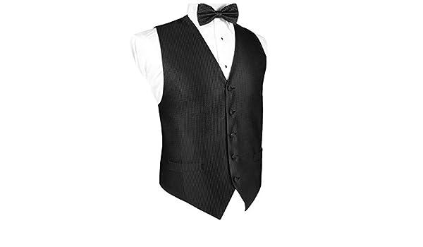 EZ Tuxedo Powder Blue Venetian Vest and Bow Tie