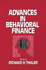 Advances in Behavioral Finance (Roundtable Series in Behavioral Economics) Paperback