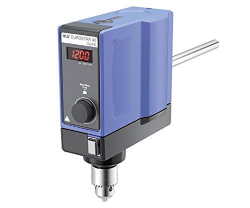 IKA1-9943-21電子制御撹拌機ユーロスター40デジタル B07BD2YRH5