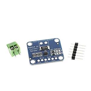 DAOKI 5PCS INA219 GY-219 Bi-Direction DC Current Power Supply Breakout Sensor Module MCU-219 DIY