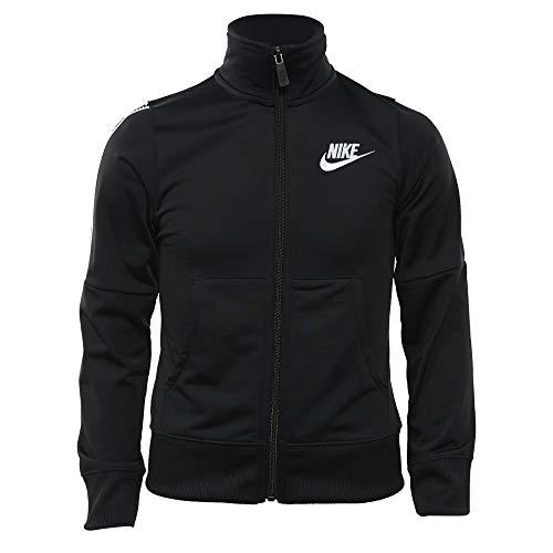 (Nike Girl's Sportswear Tracksuit Black/White Size Medium)
