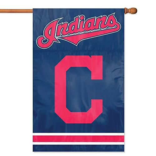 Indians Cleveland Banner (Party Animal Cleveland Indians Premium Banner Flag)