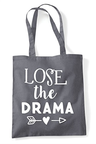 Shopper Bag Lose Grey Tote The Dark Drama Iqqtwpxf