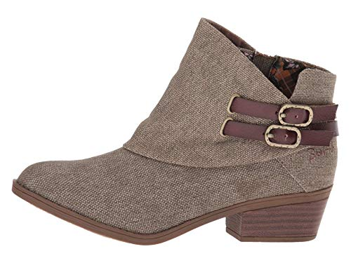 Brown Rancher Dyecut Ankle Blowfish Boot Women's Sistee wgcInqBS