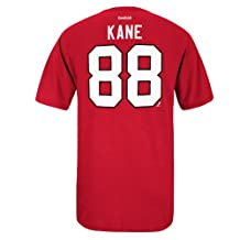 Chicago Blackhawks Patrick Kane Reebok NHL Player Name & Number T-Shirt