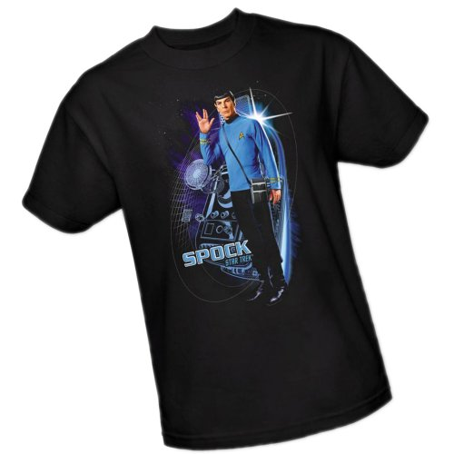 Galactic Spock -- Star Trek Adult T-Shirt, X-Large
