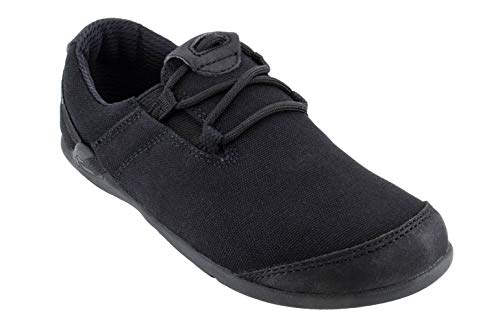 Xero Shoes Hana - Men's Casual Canvas Barefoot-Inspired Shoe - Black