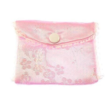 Tela rosa bordado rosario monedero botón botones cierre 8cm sedoso: Amazon.es: Hogar