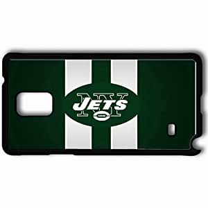Personalized Samsung Note 4 Cell phone Case/Cover Skin 1474 new york jets Black