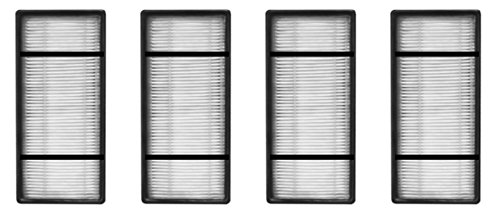 Nispira HEPA Filter Replacement Compatible with Honeywell HRF-H2 H Type. Fits Air Purifier Model HPA050, HPA150, HPA060, HPA160, HHT055 and HHT155, 4 Packs