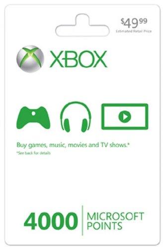 Xbox 360 LIVE 4000 Points image