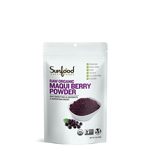 Sunfood Maqui Berry Powder, 4oz, Organic, Raw
