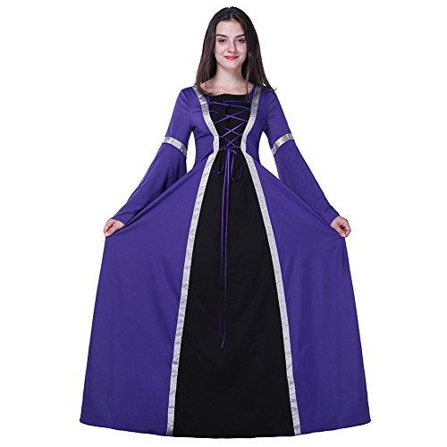 Halloween Costumes Plus-Size Renaissance Lady Dress For Festival-L (Renaissance Festival Outfits)