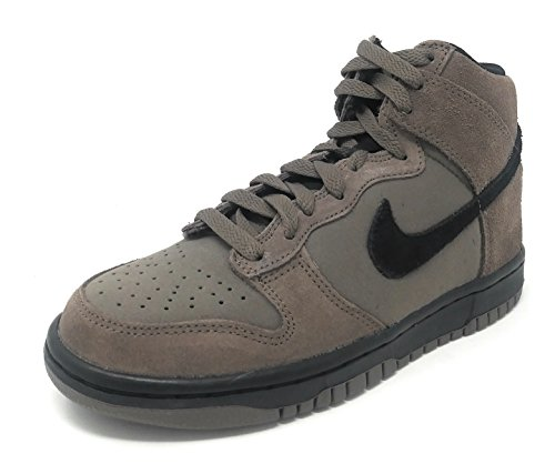 Nike Dunk High (GS) Dark Mushroom/Black (5 M US Big Kid)