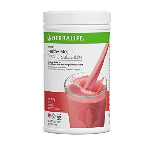 Herbalife Formula 1 Healthy Meal Nutritional Shake Mix (Wild Berry -
