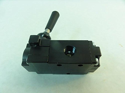 Universal Fittings 3-Way 1/4In NPT Manual Air Control Valve ...