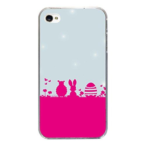 """Disagu Design Case Coque pour Apple iPhone 4s Housse etui coque pochette """"Frohe Ostern´14"""""""