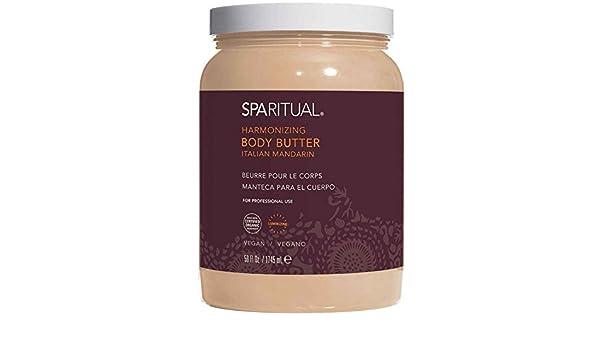 Amazon.com : SpaRitual Body Butter in Harmonizing (Italian Mandarin) 59 oz : Beauty