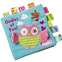 Fabric Activity Crinkle Cloth Books for Babies, Educational Toys for Baby, 1 Year Old, Toddler with Peekaboo Flap, Interactive