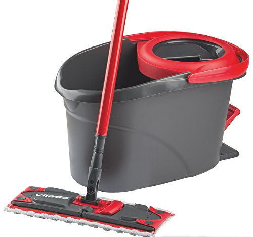Vileda Easy Wring Ultramat Flat Mop and Bucket with Power Spin Wringer by Vileda