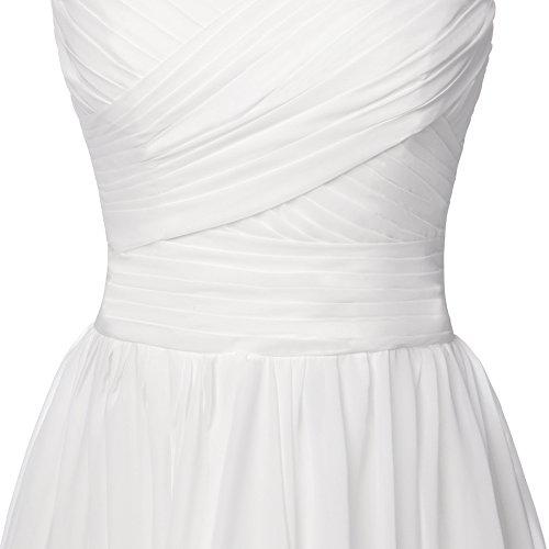 Prom Bridesmaid Blue Sleeveless Party Dress Long Lace JAEDEN for Pleat Dress Chiffon qxnfEFWXCw