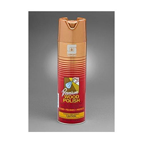 Spartan Premium Wood Polish, 20 oz aerosol, Case of 12