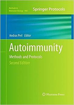 Book Autoimmunity: Methods and Protocols (Methods in Molecular Biology)