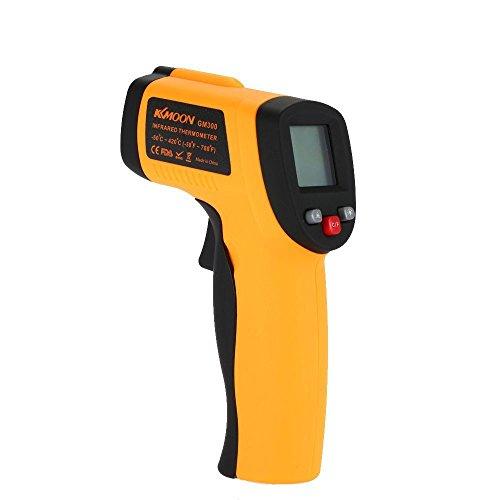 KKMOON Digitaler Berührungsloser Laser IR Thermometer Minus 50 Bis 380 Celsius