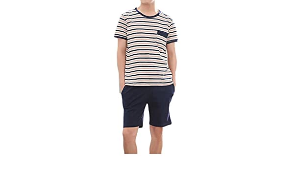 Wofupowga Boys Casual Polos Shirt 2 Pieces Short Sleeve Summer Shorts Set