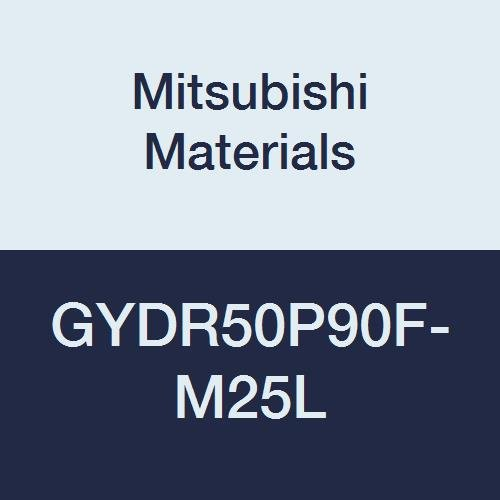 Mitsubishi Materials GYDR50P90F-M25L GY Series Modular Type Internal Grooving Holder with Left Hand M25 Modular Blade, Right Hand, 90° Angle, 80 mm Neck, 50 mm Height, 50 mm Width, 170 mm Length by Mitsubishi Materials