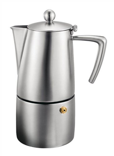 Aluminum Stovetop Espresso 6 Cup - Cuisinox Stainless Steel Milano 6 cup Espresso Coffeemaker