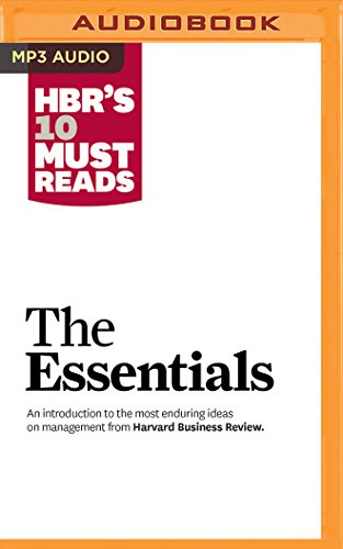 HBR's 10 Must Reads: The Essentials by Audible Studios on Brilliance Audio