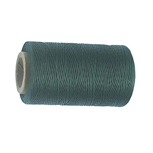 Black Green Leather Sewing Flat Waxed Thread String Hand Stitching Craft