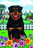 Best of Breed Rottweiler - Tomoyo Pitcher Spring Garden Flag