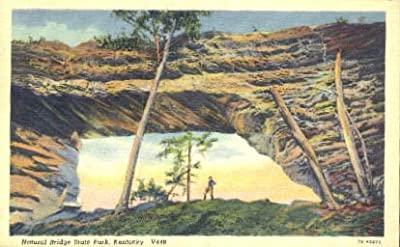 Natural Bridge State Park, Kentucky Postcard