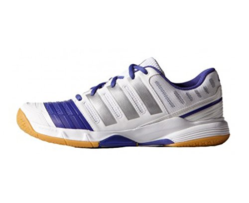 adidas Stabil 11 Zapatillas de sala para mujer Blanco/Púrpura