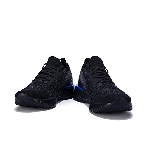Baskets Homme Athlétique Formateurs Chaussures Léger Sport Course Poids de Running Engrener Black Walk xqUPw1